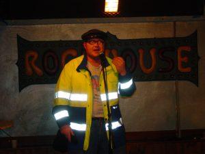 Bruce Ketta nel laboratorio di cabaret del Rock House