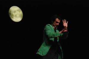 momento coreografico durante un varietà internazionale