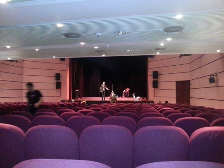 Teatro Kursaal - prove tecniche di spettacolo
